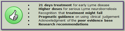 NICE Guideline – LDA's reaction | Lyme Disease Action