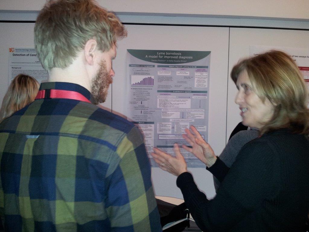 NordTick 2016 Sandra explaining poster